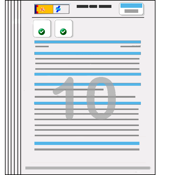 pack 10 informes vehiculo
