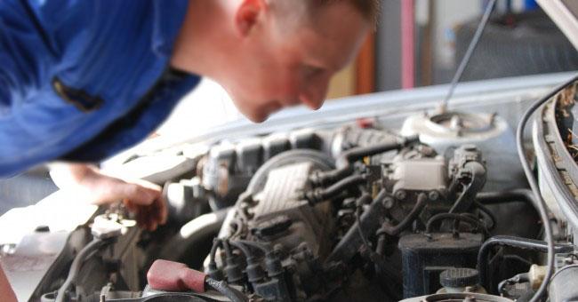 Examinar un vehículo de ocasión (motor)